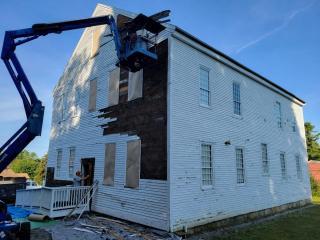 Webster Meeting House Restoration